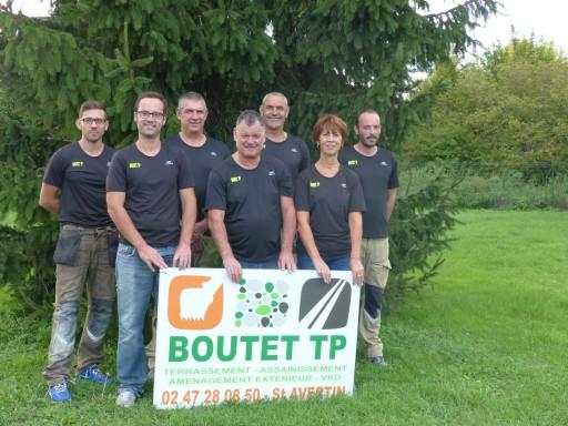 Equipe Boutet devant les locaux de Saint-Avertin